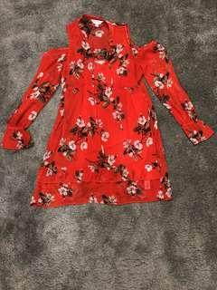 Miss selfridges floral blouse