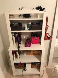 Open Makeup Dresser