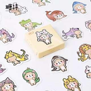 (PO) bear stickers