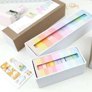 (PO) set of 12 pastel washi tape