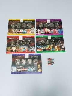 The Official Millennium Medal Collection Complete Set of 21 Medals, Collectible