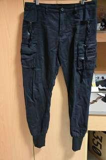 🚚 機能褲 工裝 束口褲