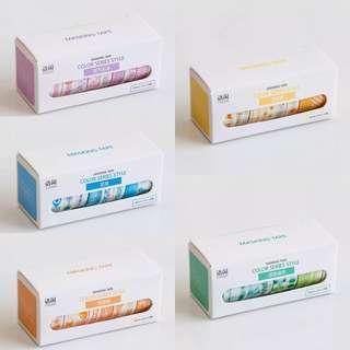 (PO) set of 10 washi tape