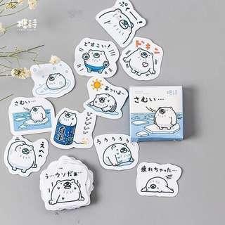 (PO) polar bear stickers