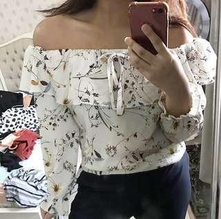 Floral Sabrina
