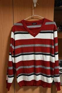 🚚 毛衣 橫條紋 韓國品牌