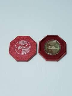 2008 Singapore $2 Cupro-Nickel Proof-Like Coin, Year of Rat, Collectible