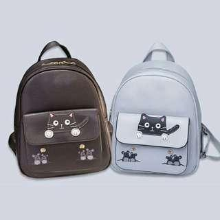 [ READY STOCK ] CAT & TIKUS BACKPACK
