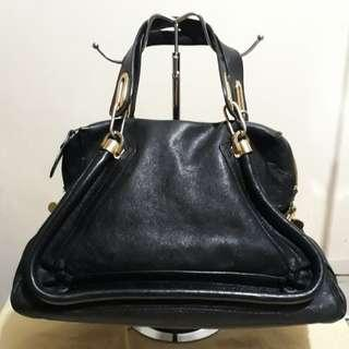 Repriced Chloe paraty inspired black bag in high quality material
