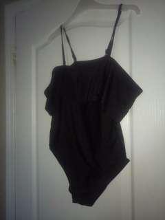 Zaful off the sholder black swimsuit