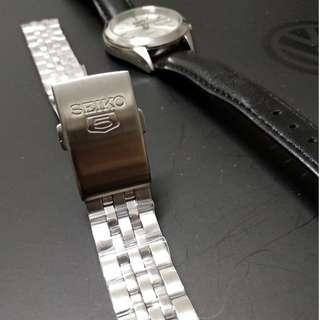 SEIKO 5 Jubilee Style Stainless Steel 18mm Watch Bracelet