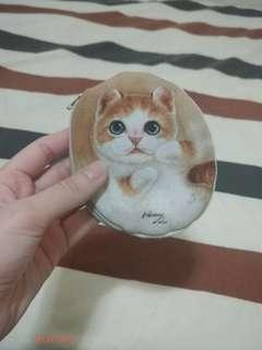 台灣出品可愛小貓銀包