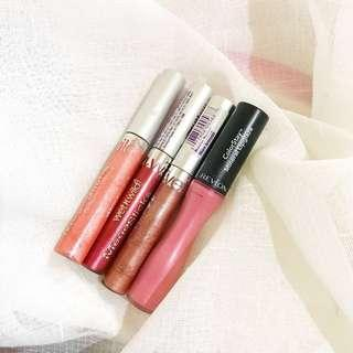 SALE! Wet N' Wild and Revlon Lipgloss from US 🇺🇸