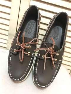 SEBAGO (Brand New) Boat Shoes—Off White Blanc Casse US 9