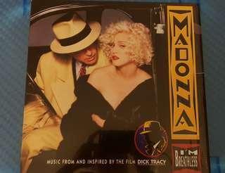 麥當娜 Madonna l'M BREATLESS 黑膠唱片LP