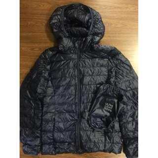 Uniqlo Ultra Light Down Parka hoodie bubble jacket navy blue SRP P4,000 BRAND NEW