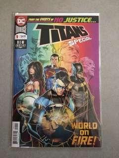 Dc comics titans special #1