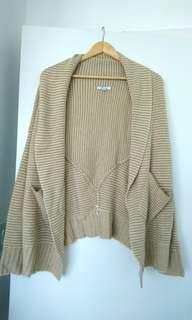 Beige fall sweater