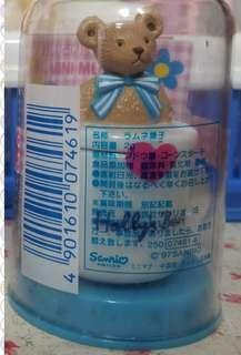 絕版sanrio holly's bear hb 立體迷你陶瓷杯