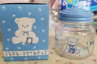 絕版sanrio sugar cream puff 雪熊 玻璃罌 有盒