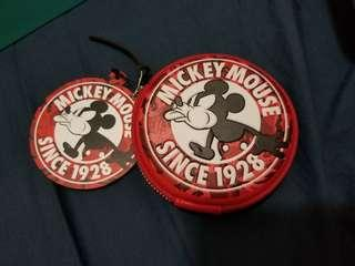 Aape X Mickey Mouse Coins Bag 100% new