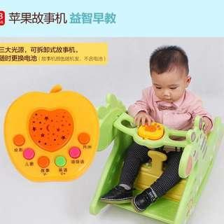 2 in 1 Multi-purpose Giraffe Baby Feeding Rocking Chair