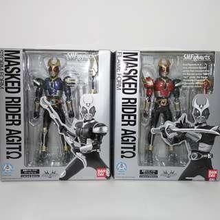 S.H. Figuarts Kamen Rider Agito Storm & Flame Form S.H.Figuarts