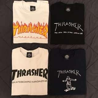 🌟Thrasher Tees🌟 (TWO WHITE SOLD)