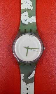 SWATCH ORIGINAL SUOG105 / ROUGH GREEN