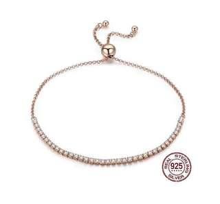 Sterling Silver Lace-Up Bracelet