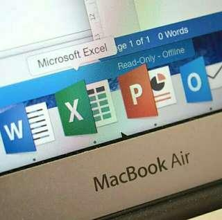 Mac Office ipad iphone macbook air imac life time 長用