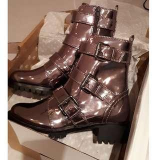 Callitspring Boots - Pewter size 7