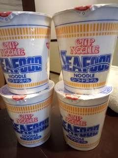 Nissin seafood cup noodles