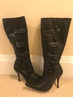 Bebe Leather Boots