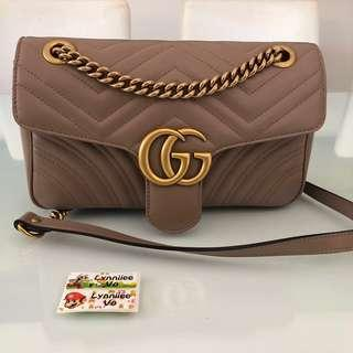 Gucci Marmont Nude Small
