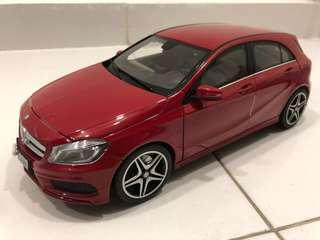 🚚 Mercedes-Benz A-Class A180 W176 Die-cast Scale 1:18