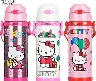 (PREORDER)450ml Hello Kitty Stainless Steel Bottle