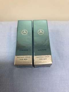 Mercedes-Benz Cologne Natural Spray For Men 1.5mlx2