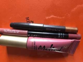 Lipstik ,Lipliner,Eye pencil