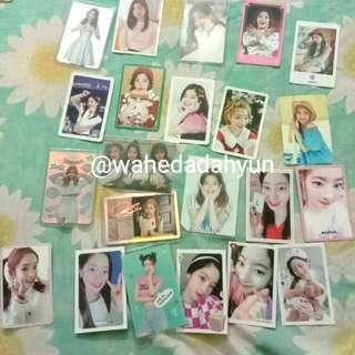 Wts twice official card