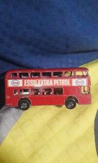 ESSO London Bus - Matchbox Series No.74 Made In England By LESNEY