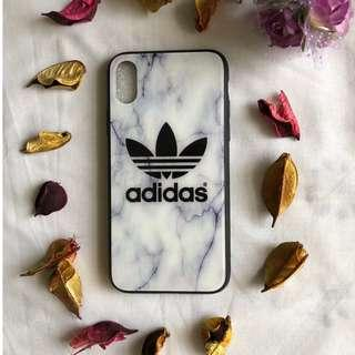 iPhone X Marble Adidas Cover/Case