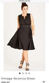 City chic Veronica Vintage Dress
