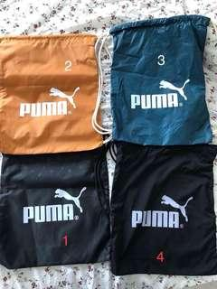 Drawstring Bags Puma New without tags (only number 3 is available)