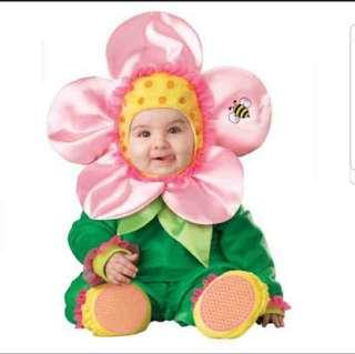 SALE!! InCharacter Baby Blossom Flower Costume Baby Photoshoot Brand New For 18-24 Months