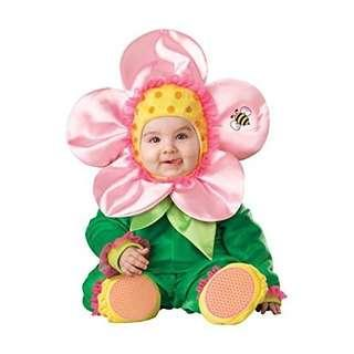 InCharacter Baby Blossom Flower Costume Baby Photoshoot Brand New For 12-24 Months