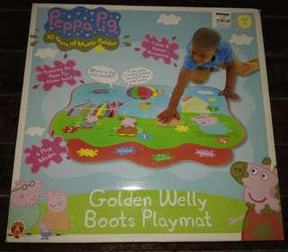 Peppa Pig Muddy Puddles PlayMat Electronic Educational