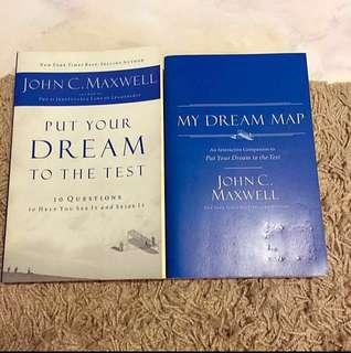 Put Your Dream to the Test & My Dream Map by John C. Maxwell