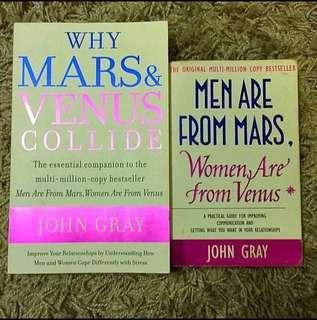 Mars & Venus Book Series by John Gray (Set of 2 books)