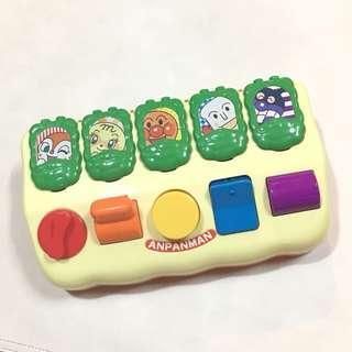 二手 中古 2009 BANDAI Anpanman 麵包超人 小童玩具 練習手指肌肉